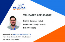 Jaromir Holub Validation Card SWII Designer