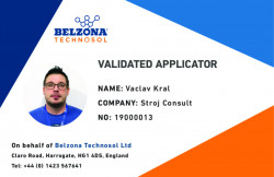 Vaclav Kral Validation Card SWII Installer